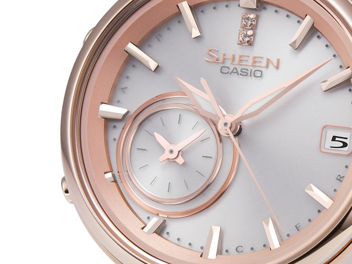 eb99bdfe11 SHEEN 【Voyage TIME RING Series】 スマートフォンリンクモデル /SHB-100CG-4AJF